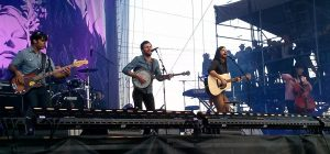 The Avett Brothers performing live at Bottlerock Music Festival in 2013