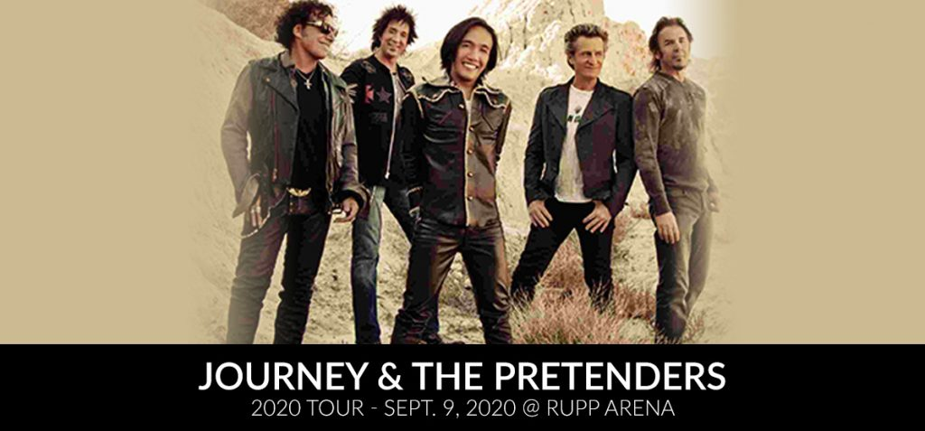 Journey and the Pretenders -2020 Tour - Sept. 9, 2020 at Rupp Arena