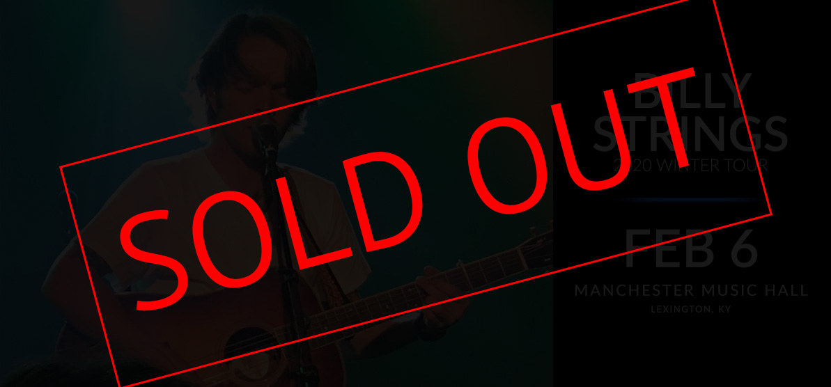 Billy Strings - SOLD OUT