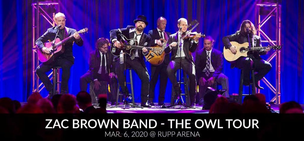 Zac Brown Band - The Owl Tour Mar. 6, 2020 @ Rupp Arena