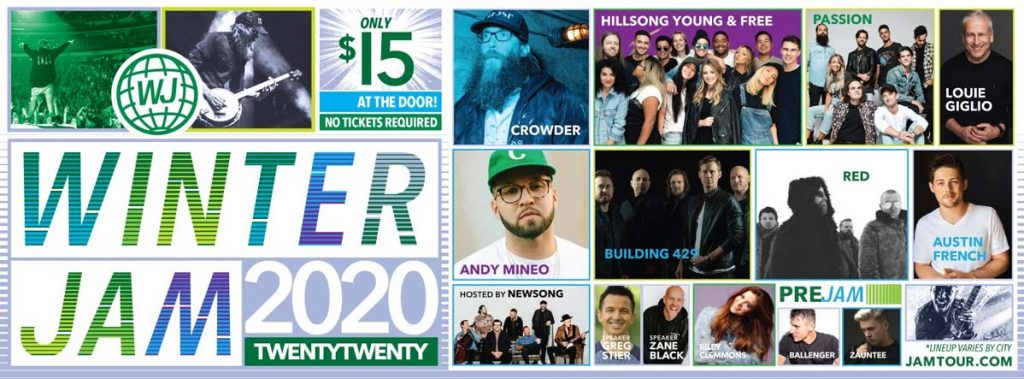Winter Jam 2020 - Featuring Crowder, Andy Mineo, Hosted by Newsong