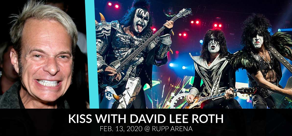 David Lee Roth and KISS - Kiss with David Lee Roth - Feb. 13, 2020 at Rupp Arena