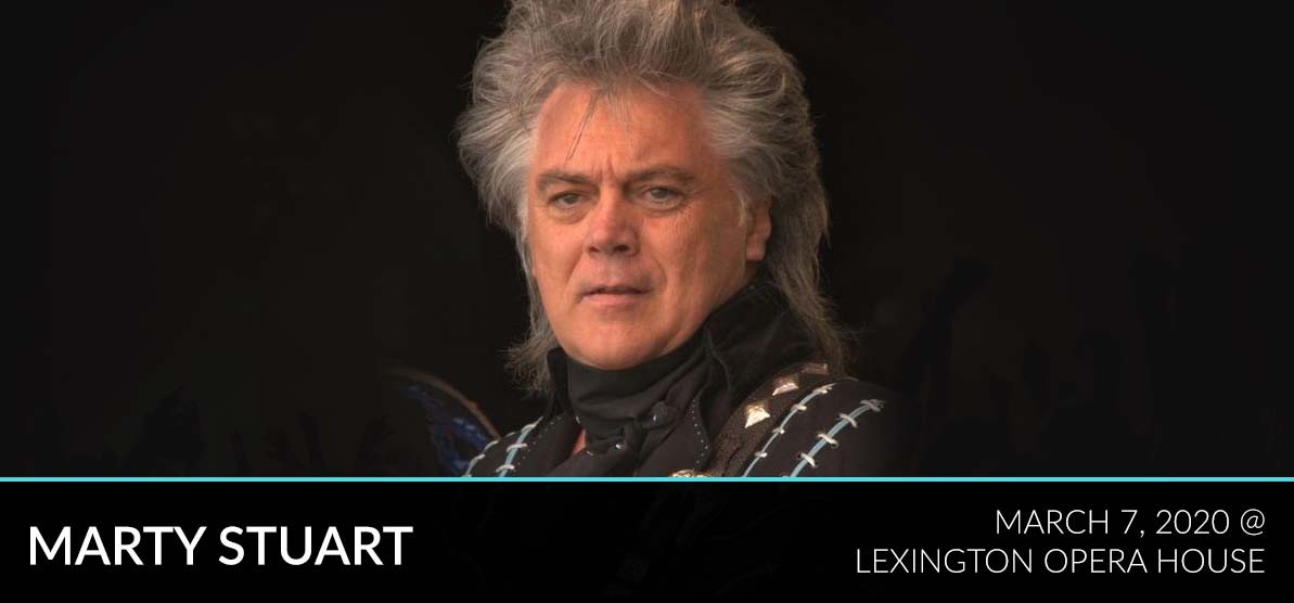Marty Stuart in 2012 - Marty Stuart - Lexington Opera House - March 7, 2020