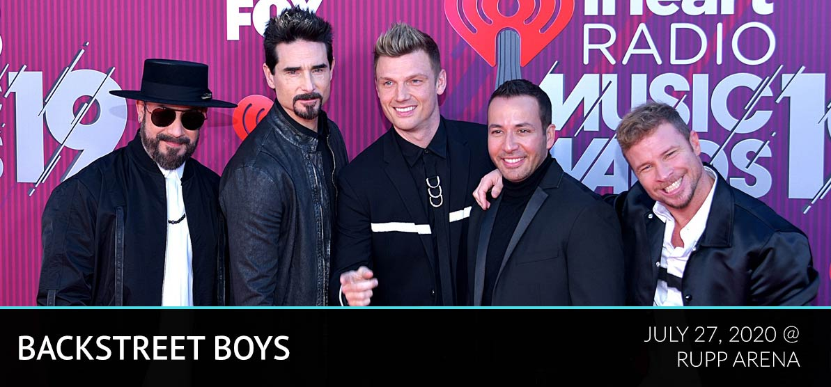 Backstreet Boys - July 27, 2020 @ Rupp Arena