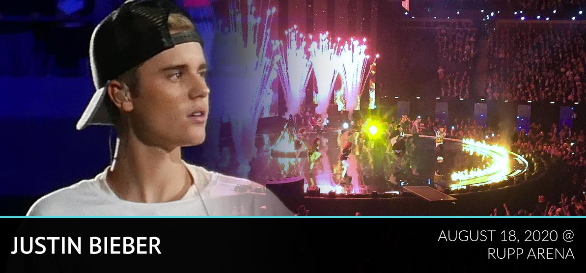 Justin Bieber - Rupp Arena August 18, 2020