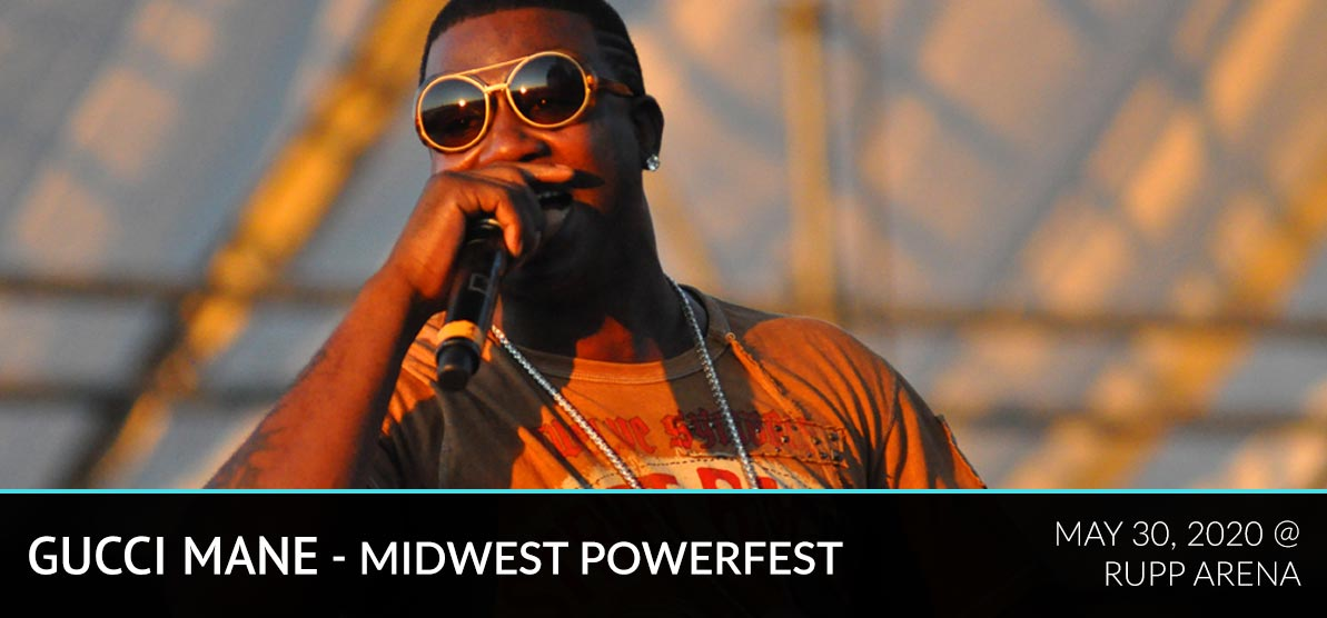 Gucci Mane performing live - Gucci Mane - Midwest Powerfest - May 30,2020 at Rupp Arena